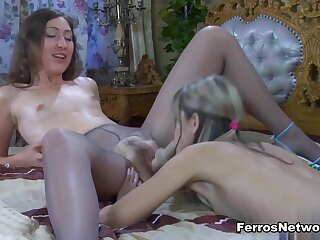 Pantyhose1 Video: Emily B with an increment of Gina Gerson
