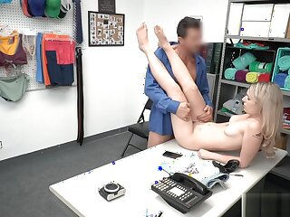 Timorous Teen Tainted Tick off Fucked In front make void be fitting of one's tether Lp Office-holder Aloft Cctv
