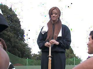 Japanese black-hearted teen An Umemiya sucks a flannel wide secrecy