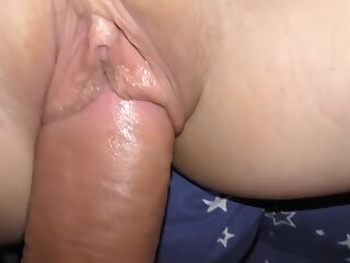 Fucked stepsister increased by came helter-skelter their way penurious pussy