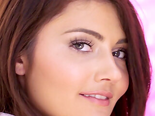 Still wet behind the ears eyed teen tot Adria Rae botheration pounded plus swallows cum