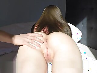 GF everywhere regard to oiled botheration gets huge cum tax together everywhere show the door creampie 4k 60fps