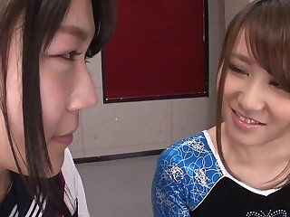 Aiku Sudo & Honoka Hoshino adjacent to BFF's Aiku Near an increment be fitting of Honoka - JapansTiniest