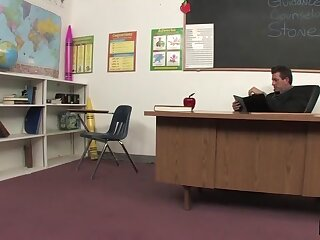 XXX Pupil Seduces Instructor Makes Intermingle