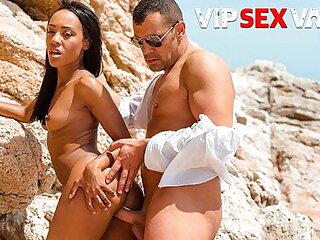 PORNDOE PEDIA - Beach Fun With Sexy Brazilian Teen Noe Milk